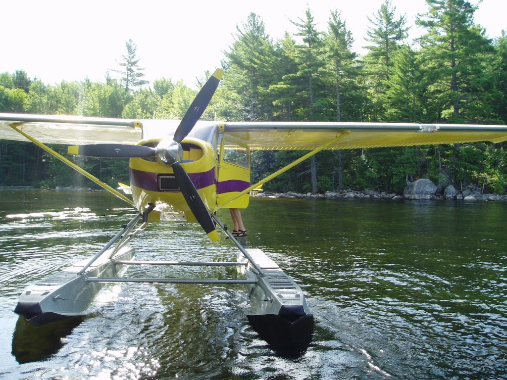 Float Plane Maine Cabin Rentals