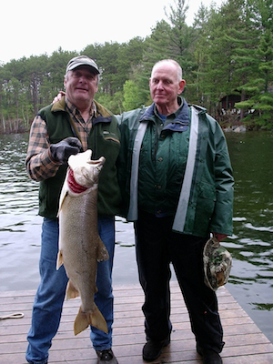 Maine Fishing at Leen's Lodge in Grand Lake Stream