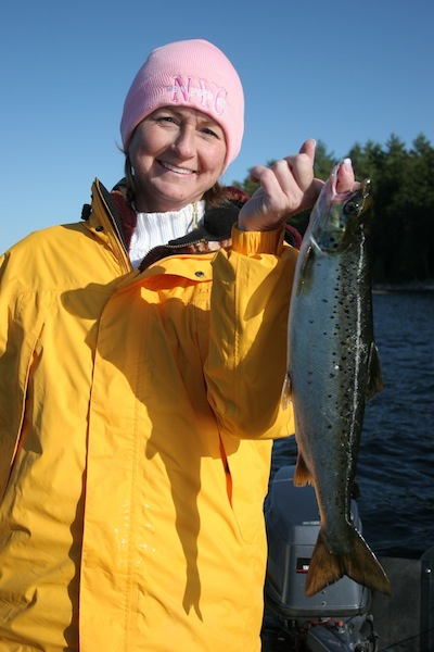 Maine Salmon Fishing at Grand Lake Stream