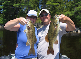 Maine Smallmouth Bass Fishing at Leen's Lodge